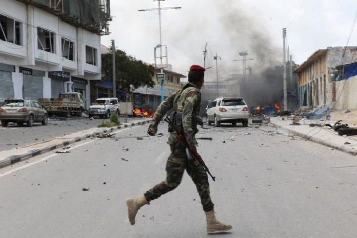 Al Shabaab attack army base south of Mogadishu, 5 killed