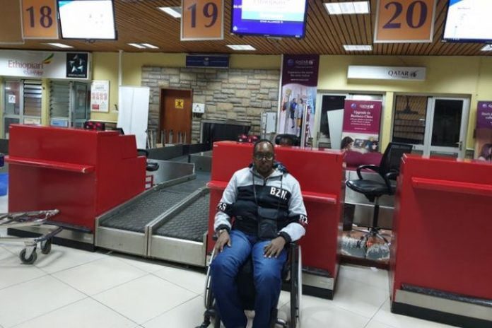 Ethiopian Airlines under fire for not flying wheelchair user