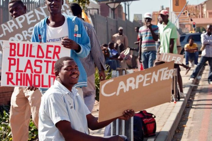 South Africans desperate amid surging unemployment