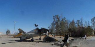 Eastern Libya force strikes Misrata air college