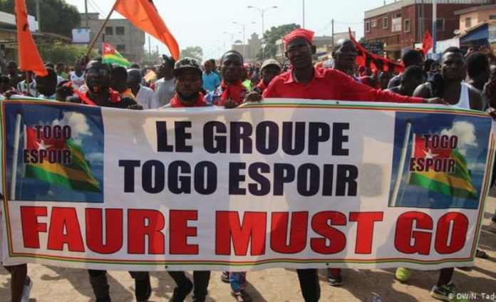 Togo parliament pass new law clamping down on protests