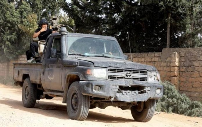 Libya government forces claim advance south of Tripoli