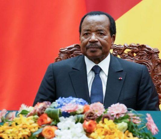 Cameroon's Biya says govt will organize talks to solve separatist crisis