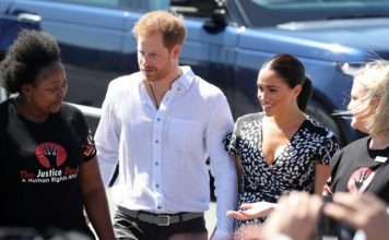 UK's Harry, Meghan and son Archie in South Africa on first family tour