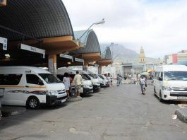 South Africa taxi drivers union