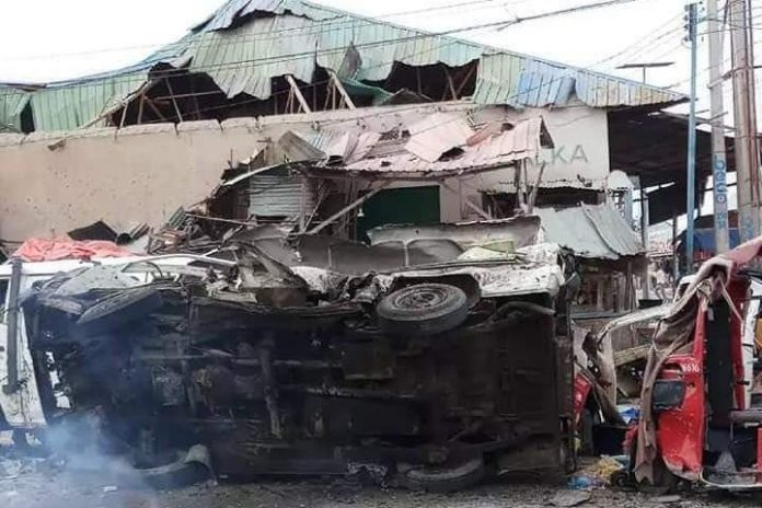 Car bomb explodes by Mogadishu checkpoint killing six