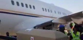Mugabe's body arrives Zimbabwe