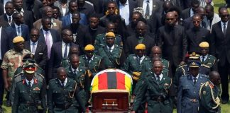 Tears and tributes as African leaders bid farewell to Mugabe
