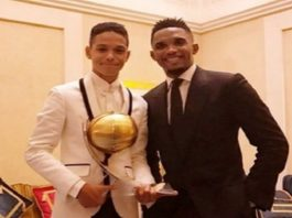 Samuel Etoo's son named in Cameroon Under-17 World cup squad