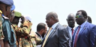 Former South Sudan vice president lands in Juba for talks