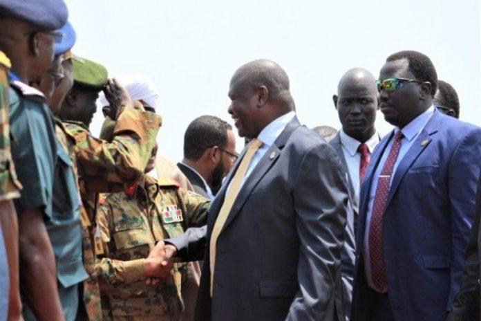 Former South Sudan vice president lands in Juba for talks