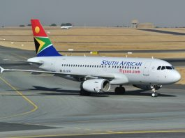 South African Airways suspends operations